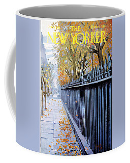 The New Yorker Cover - October 19th, 1968 Coffee Mug