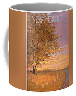 The New Yorker Cover - October 31st, 1953 Coffee Mug