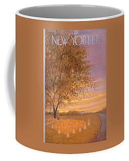 New Yorker  October 31st, 1953 Coffee Mug