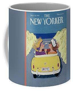 The New Yorker Cover - September 18th, 1989 Coffee Mug