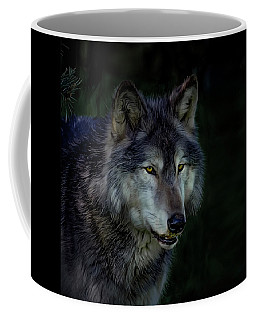 The Night Belongs To The Wolf Coffee Mug