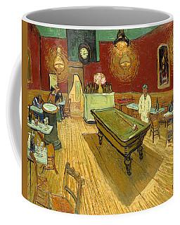 The Night Cafe Auto Contrasted Coffee Mug