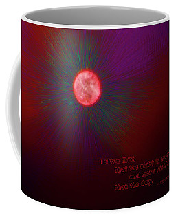 The Night Is More Alive Coffee Mug by Mick Anderson