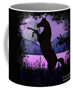 The Night Of The Unicorn Coffee Mug