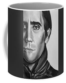 Nightcrawler Movie Art Drawing - Jake Gaalynhaal Charcoal Pencil Drawing - Ai P. Nilson Coffee Mug