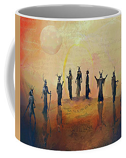 The Nine Nazgul Coffee Mug by Joe Gilronan