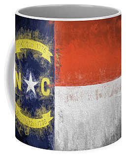 The North Carolina Flag Coffee Mug by JC Findley