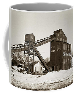 The Northwest Coal Company Breaker Eynon Pennsylvania 1971 Coffee Mug