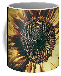 The Not So Sunny Sunflower Coffee Mug by Karen Stahlros