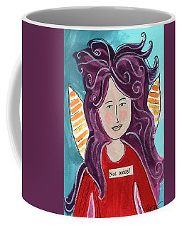 The Not Today Fairy- Art By Linda Woods Coffee Mug