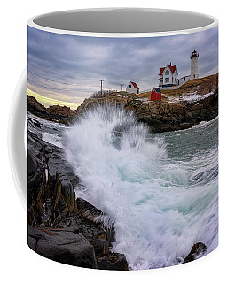 The Nubble After A Storm Coffee Mug by Rick Berk