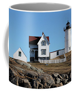 The Nubble Light House  Coffee Mug