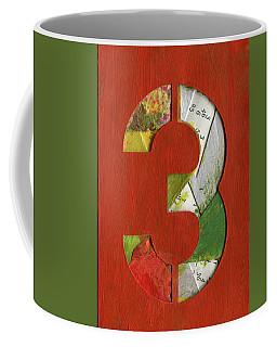 The Number 3 Coffee Mug
