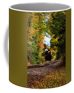 The Number 40 Rounding The Bend Coffee Mug