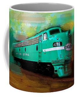 Flash II  The Ny Central 4083  Train  Coffee Mug