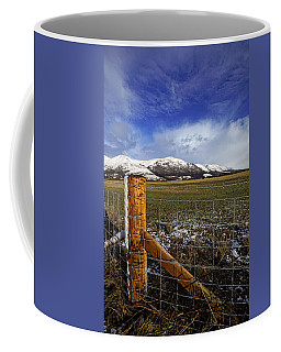 Coffee Mug featuring the photograph The Ochils In Winter by Jeremy Lavender Photography