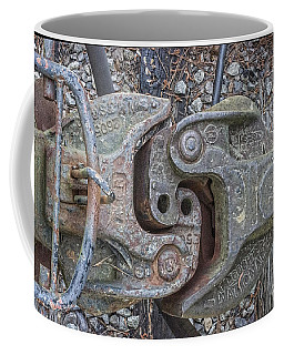 The Odd Coupler On Train Coffee Mug