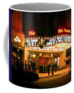 The Ohio Theater At Night Coffee Mug
