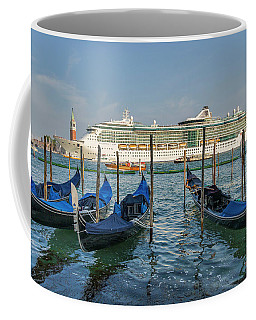 The Old And The New In Venice Coffee Mug