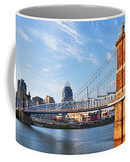 Coffee Mug featuring the photograph The Old And The New by Mel Steinhauer