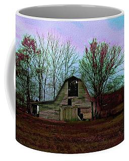 The Old Barn Awaits The Night Coffee Mug
