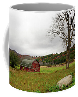 The Old Barn With Tree Coffee Mug
