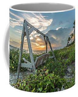 The Old Beach Swing -  Sullivan's Island, Sc Coffee Mug
