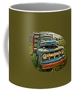 The Blue Classic 48 To 52 Ford Truck Coffee Mug