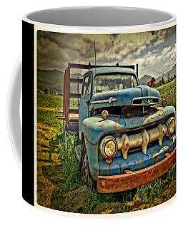 The Blue Classic Ford Truck Coffee Mug