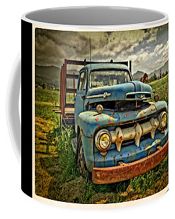 The Blue Classic Ford Truck Coffee Mug