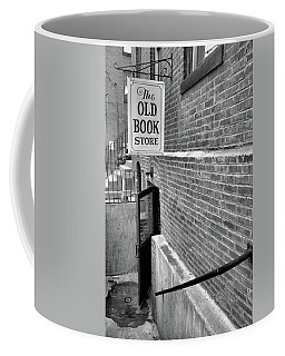 Coffee Mug featuring the photograph The Old Book Store by Karol Livote