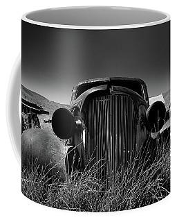 The Old Buick Coffee Mug by Marius Sipa