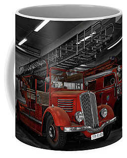 The Old Fire Trucks Coffee Mug