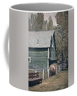 The Old Green Barn Coffee Mug