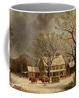 The Old Inn  Ten Miles To Salem Coffee Mug