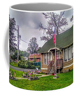 The Old Library At Beavertown Coffee Mug
