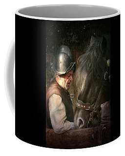 The Old Man And His Trusty Friend Coffee Mug
