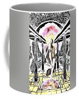 The Old Man And Life Coffee Mug by Yury Bashkin