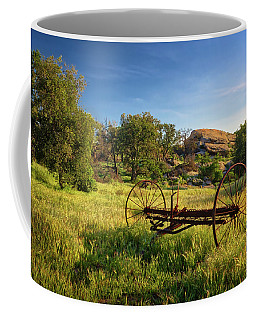 The Old Mower 1 Coffee Mug by Endre Balogh