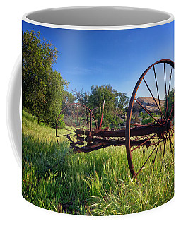 The Old Mower 2 Coffee Mug by Endre Balogh