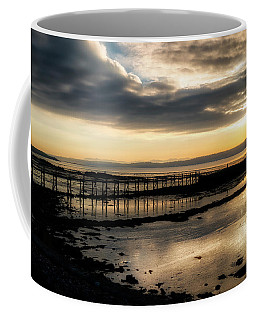 The Old Pier In Culross, Scotland Coffee Mug