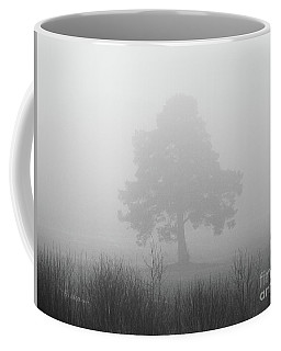 The Old Pine In The Fog Coffee Mug