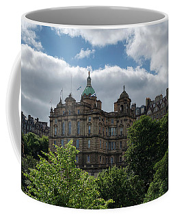 Coffee Mug featuring the photograph The Old Town In Edinburgh by Jeremy Lavender Photography