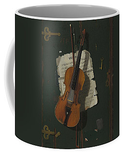 The Old Violin Coffee Mug