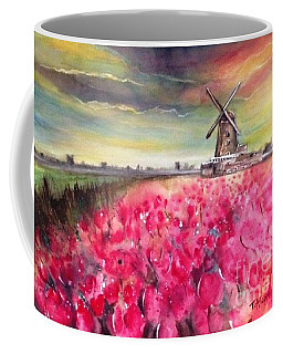 The Old Windmill - Original Sold Coffee Mug
