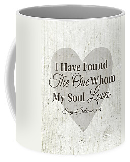 The One Whom My Sould Loves- Art By Linda Woods Coffee Mug