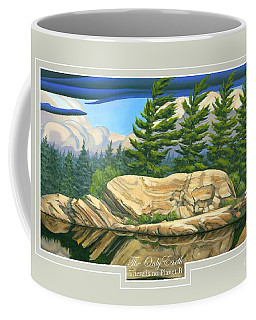 The Only World Coffee Mug by Michael Swanson