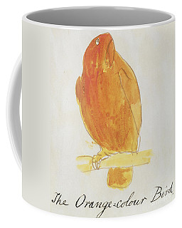 The Orange Color Bird Coffee Mug