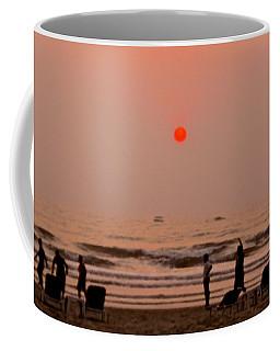 The Orange Moon Coffee Mug