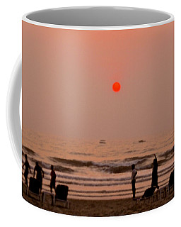 The Orange Moon Coffee Mug